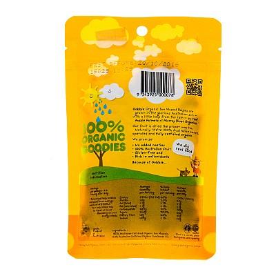 Nho khô hữu cơ Gobble 100g