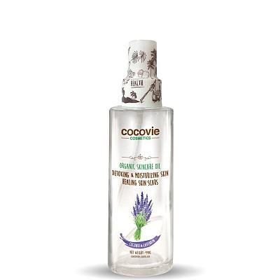 Dầu dừa dưỡng thể hữu cơ hương Lavender 100ml