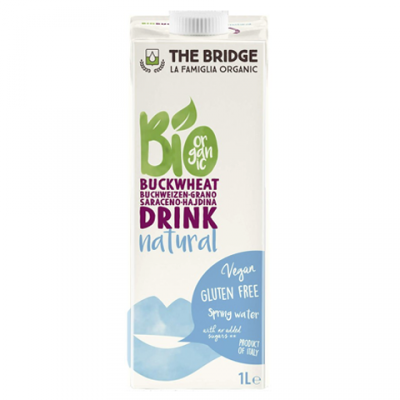 Sữa Kiều mạch hữu cơ 1L