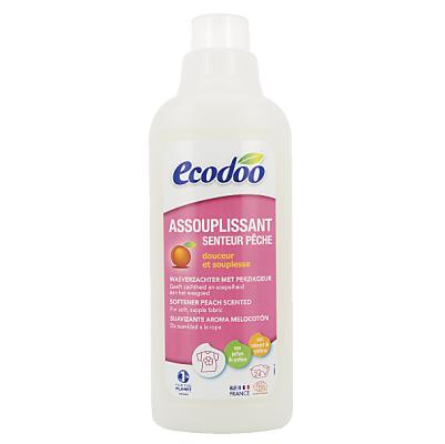 Nước xả vải hương đào hữu cơ Ecodoo 750ml