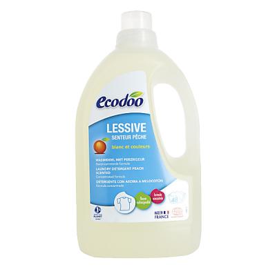 Nước giặt đậm đặc hương đào hữu cơ Ecodoo 1.5L