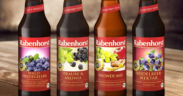 Độc đáo với lợi ích từng loại nước ép trái cây hữu cơ Rabenhorst