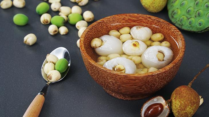 Giải nhiệt mùa hè với hạt sen khô hữu cơ tại Organica