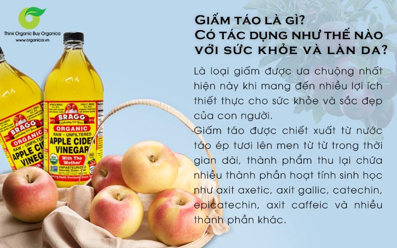 Giấm táo là gì? Có tác dụng như thế nào với sức khỏe và làn da?