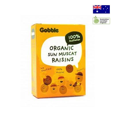 Nho khô hữu cơ Gobble (6 hộp nhỏ)