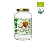 Dầu dừa nguyên chất hữu cơ Vietcoco 700ml