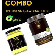 COMBO MẬT ONG RỪNG & TINH BỘT NGHỆ HỮU CƠ