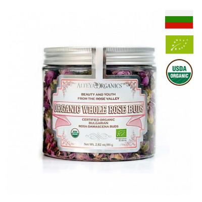 Trà nụ hoa hồng hữu cơ Alteya Organics 80g