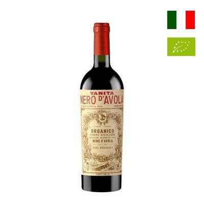Rượu vang hữu cơ Vanitá Nero d'Avola