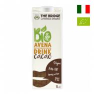 Sữa Yến mạch Cacao hữu cơ The Bridge 1L