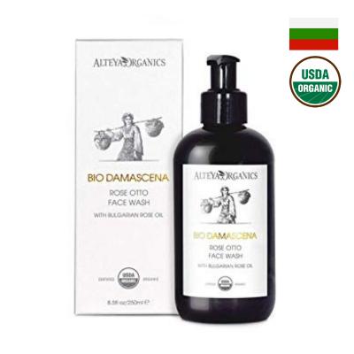 Sữa rửa mặt hoa hồng hữu cơ Alteya Organics 250ml