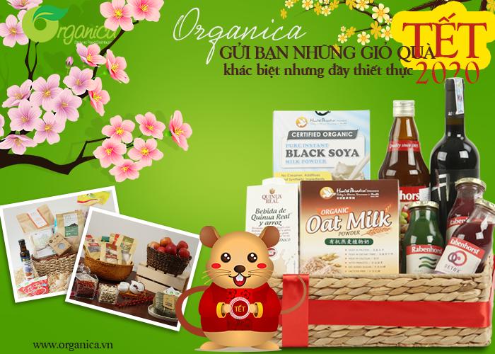 Organica gửi bạn những giỏ quà Tết 2020, khác biệt nhưng đầy thiết thực