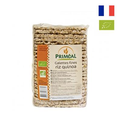 Bánh gạo Quinoa hữu cơ Primeal 130g