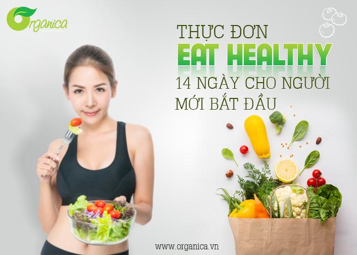 Thực đơn eat Healthy 14 ngày cho người mới bắt đầu