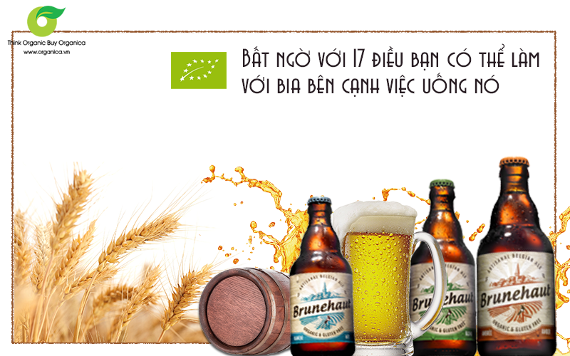 Bất ngờ với 17 điều bạn có thể làm với bia bên cạnh việc uống nó