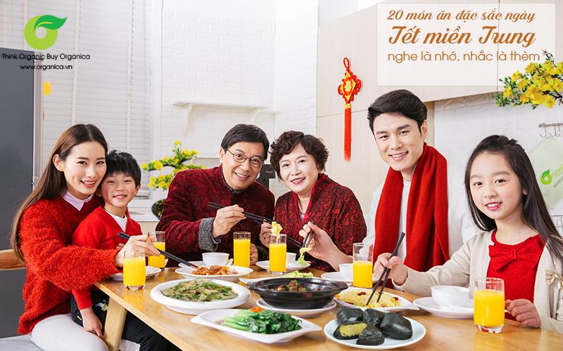 20 món ăn đặc sắc ngày Tết miền Trung, nghe là nhớ, nhắc là thèm