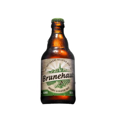Bia ALE hữu cơ Blond Brunehaut 330ml