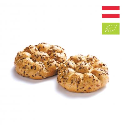 Bánh mì Hướng dương Cuộn Hữu cơ Haubis (3 cái)