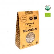 Tiêu sọ hạt hữu cơ Farmers' 50g