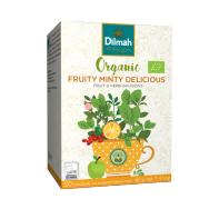 Trà Fruity minty delicious hữu cơ Dilmah 40g
