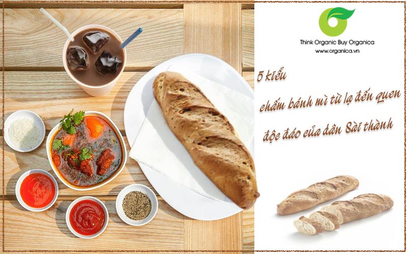 5 kiểu chấm bánh mì từ lạ đến quen - độc đáo của dân Sài thành