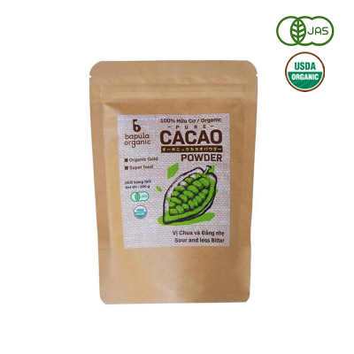 Bột Cacao hữu cơ Bapula 60g
