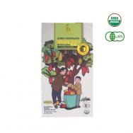 Socola đen hữu cơ 72% - Trà xanh
