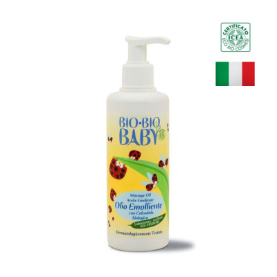 Dầu massage bé hữu cơ Bio-bio baby 250ml