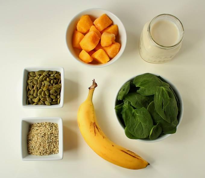 Sinh tố rau, trái cây và hạt