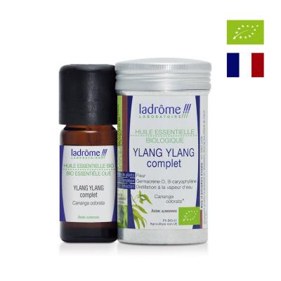 Tinh dầu Ylang Ylang hữu cơ Ladrome 10ml