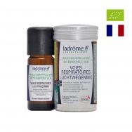 Tinh dầu mix (hỗ trợ hô hấp) hữu cơ Ladrome 10ml